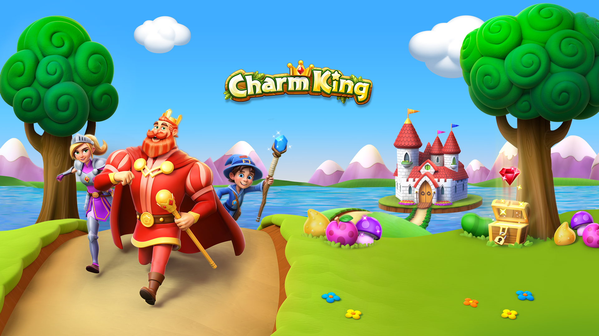 Charm King Screenshot Redesign (2019)
